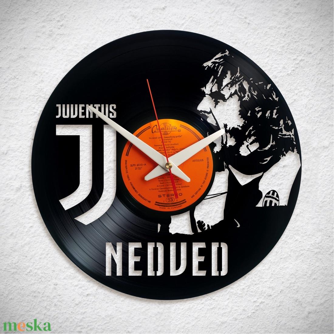 Bakelit falióra – Juventus - Nedved - Meska.hu