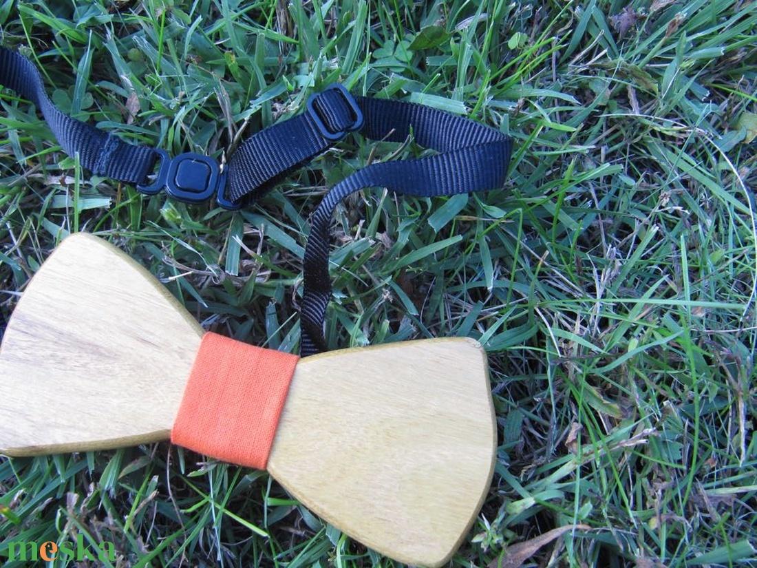 Csokornyakkendő akácfából - ruha & divat - férfi ruha - nyakkendő - Meska.hu