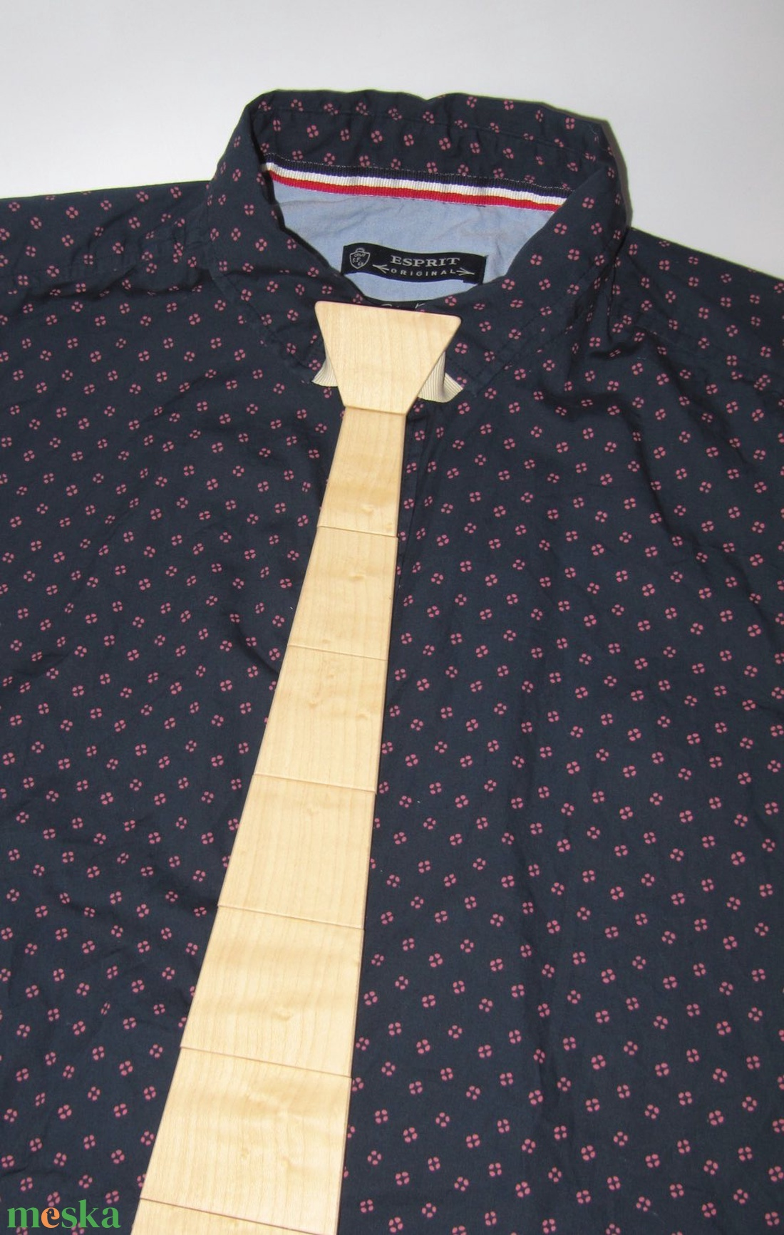 Fa nyakkendő juhar furnérral - ruha & divat - férfi ruha - nyakkendő - Meska.hu
