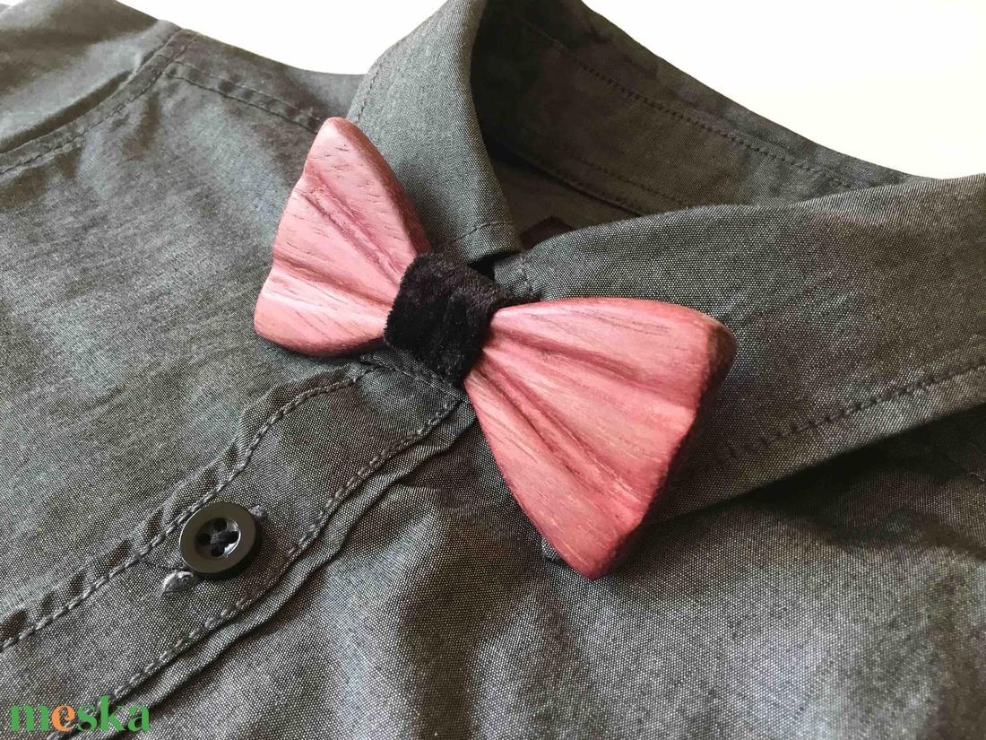 Fa csokornyakkendő gyerekeknek, házi kedvenceknek - ruha & divat - férfi ruha - nyakkendő - Meska.hu