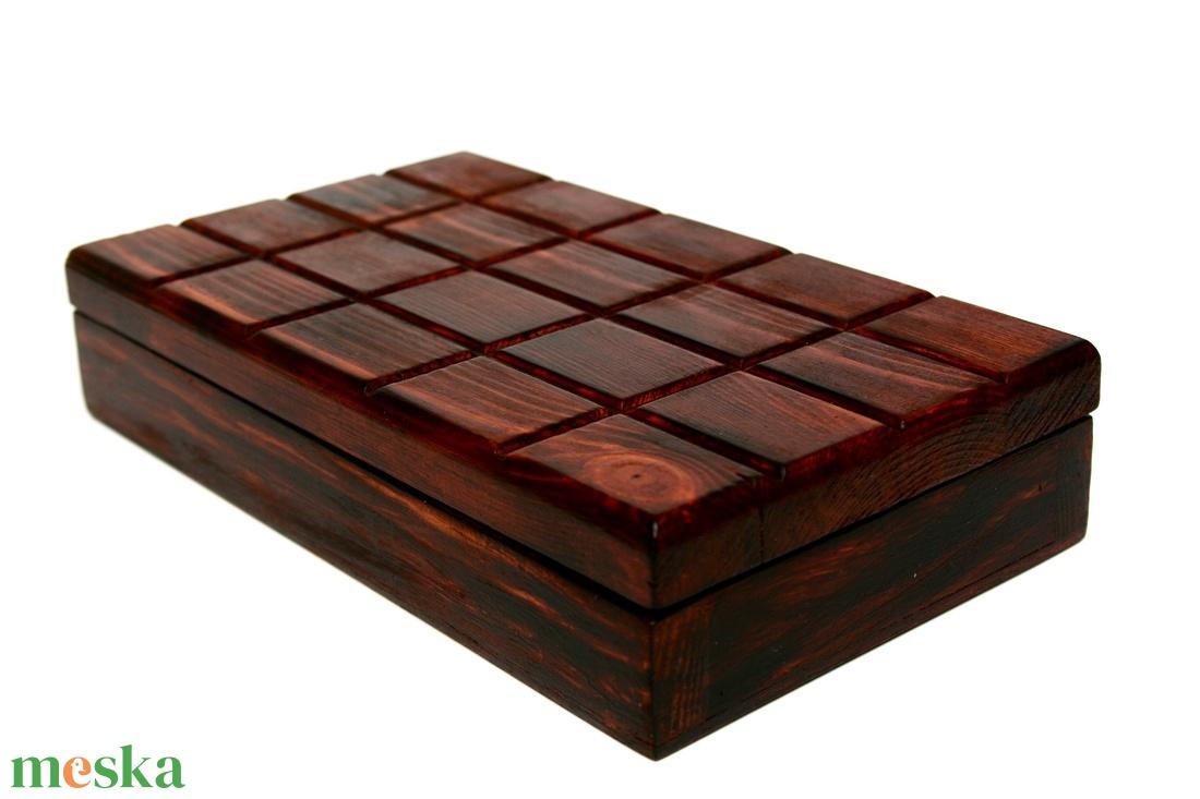 Táblás csoki doboz - otthon & lakás - dekoráció - díszdoboz - Meska.hu
