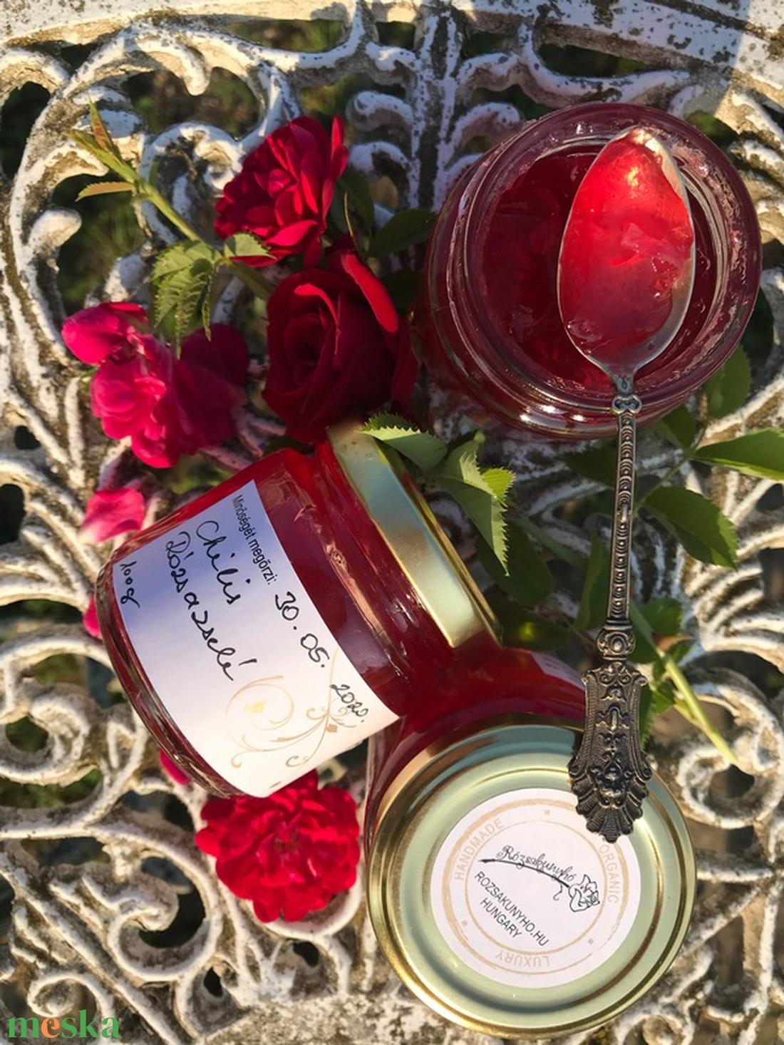 Chilis rózsazselé (FurnsAndArt) - Meska.hu
