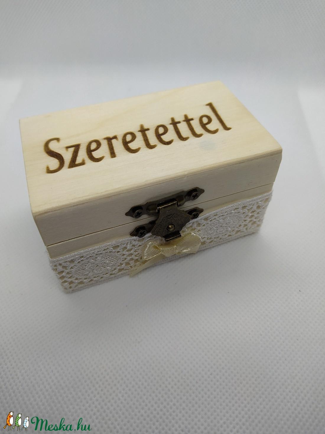 Szeretettel ajándékdoboz - otthon & lakás - dekoráció - díszdoboz - Meska.hu
