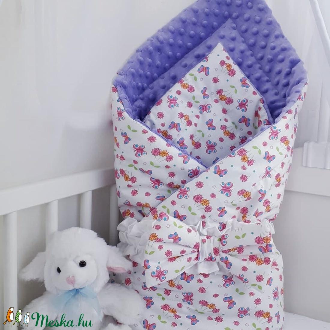 Kétoldalas pólya - otthon & lakás - lakástextil - szett kiságyba - Meska.hu