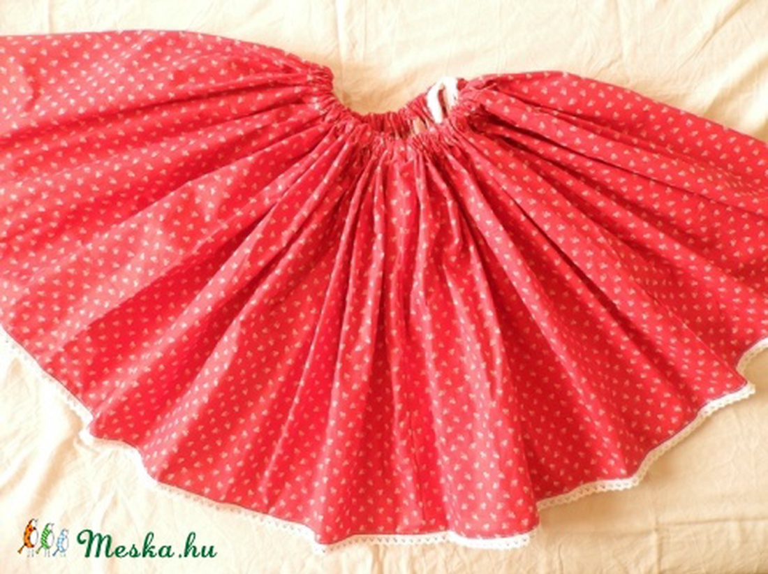 70f0935715 Pörgős szoknya /több szín, több méret/; néptánc, népi táncos szoknya
