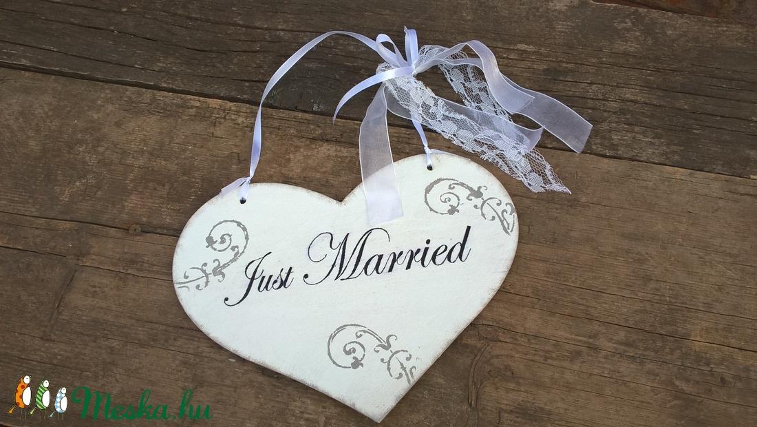 Rendelhető! Vintage esküvői szívtábla-shabby szív dekoráció fotózáshoz! (garievi) - Meska.hu