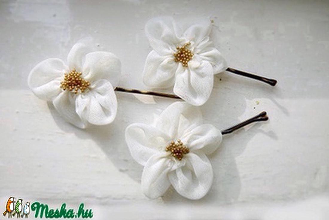 Szamóca virág-szett (gemma) - Meska.hu