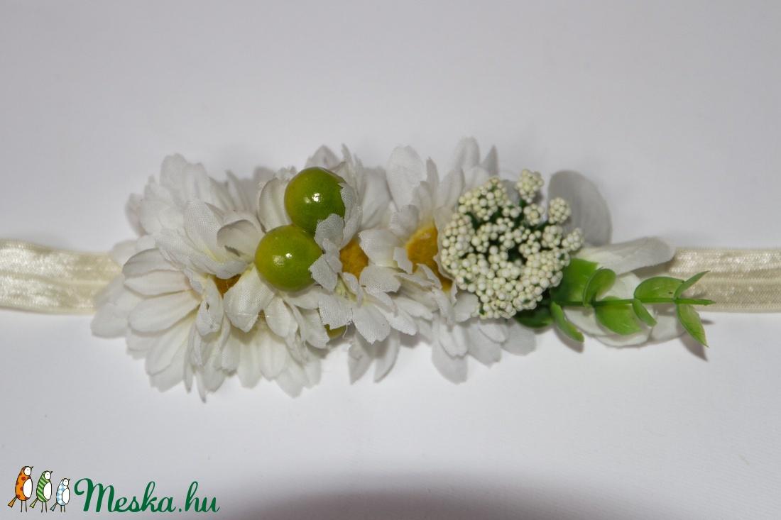 Margarétás babahajpánt (gemma) - Meska.hu