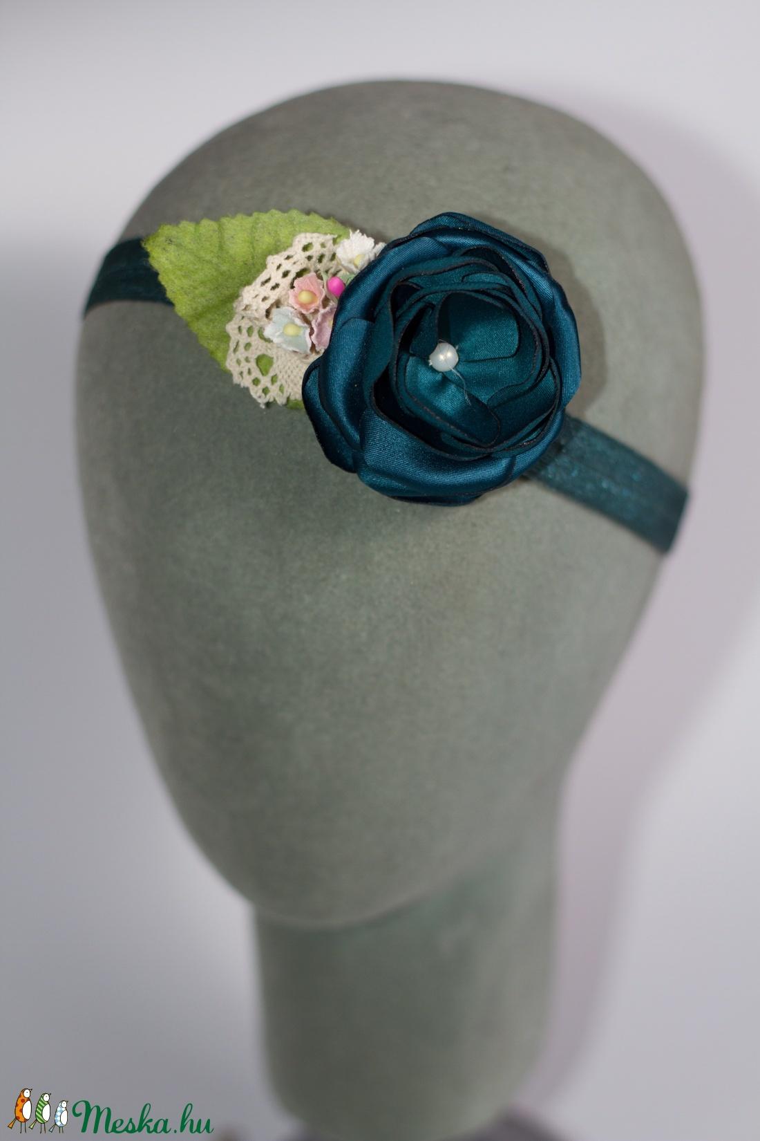 Virágos hajpánt 7. (gemma) - Meska.hu