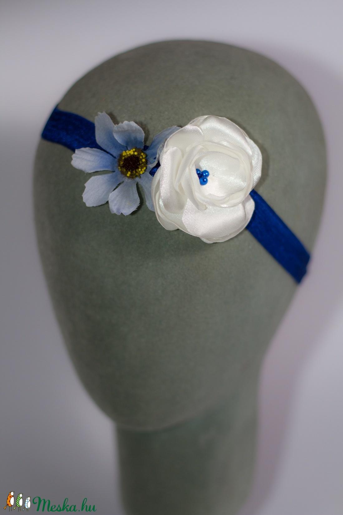 Virágos hajpánt 9. (gemma) - Meska.hu