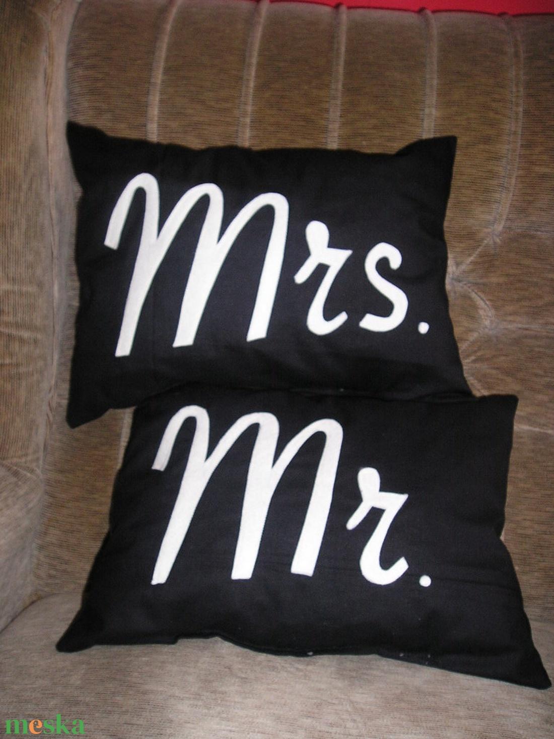 Mr. Mrs. párna szett (giorgo79) - Meska.hu 96b8fe2830