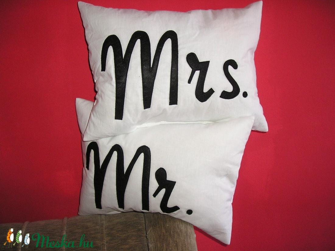 Mr Mrs párna szett (giorgo79) - Meska.hu 930400670a