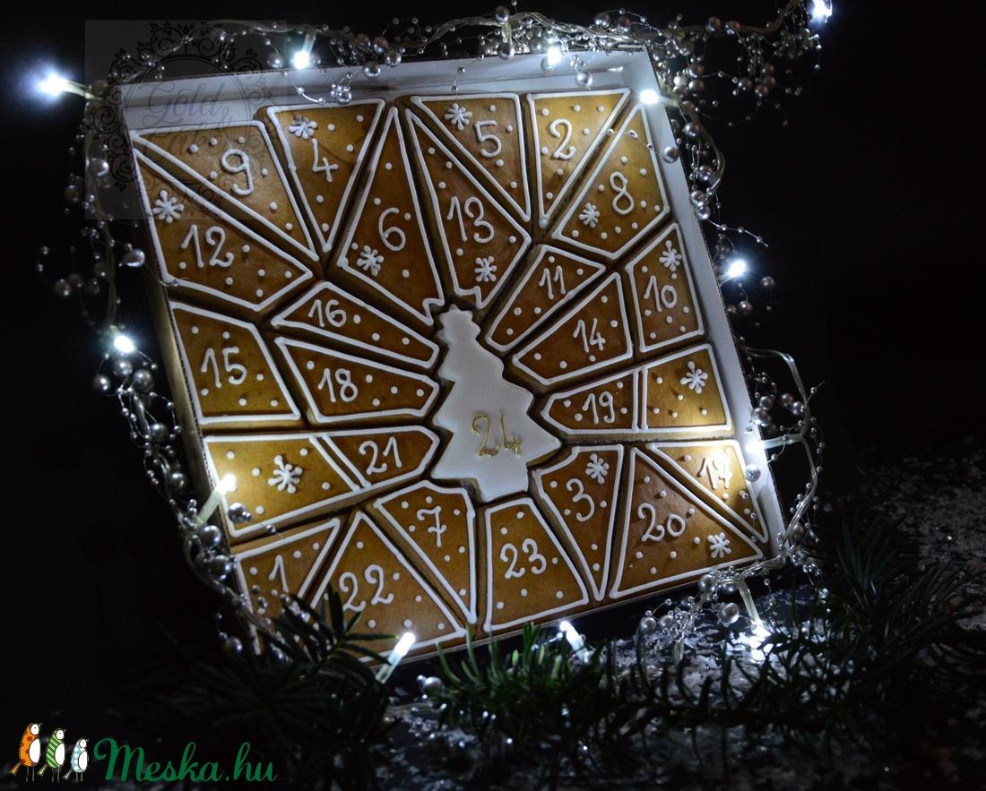 Mézeskalács adventi kalendárium (GoldandCake) - Meska.hu