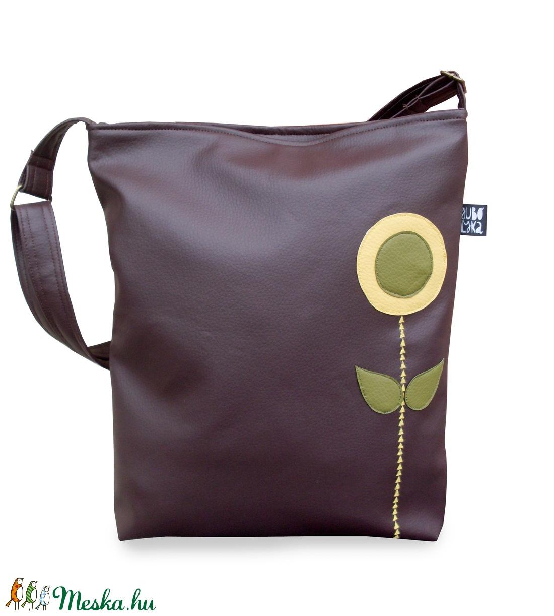 Virágos táska (gubolyka) - Meska.hu