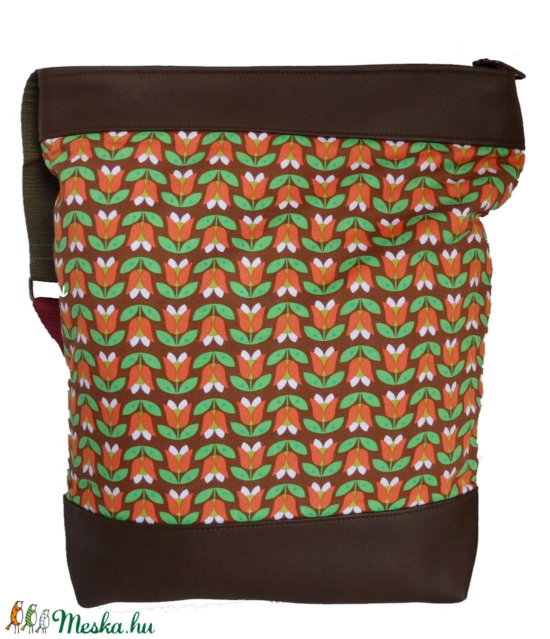 Tulipános táska (gubolyka) - Meska.hu