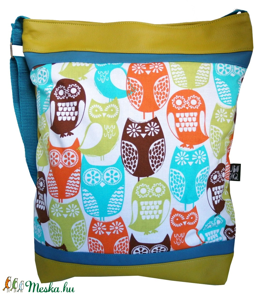 Baglyos designer táska (gubolyka) - Meska.hu a00cb2ef6f