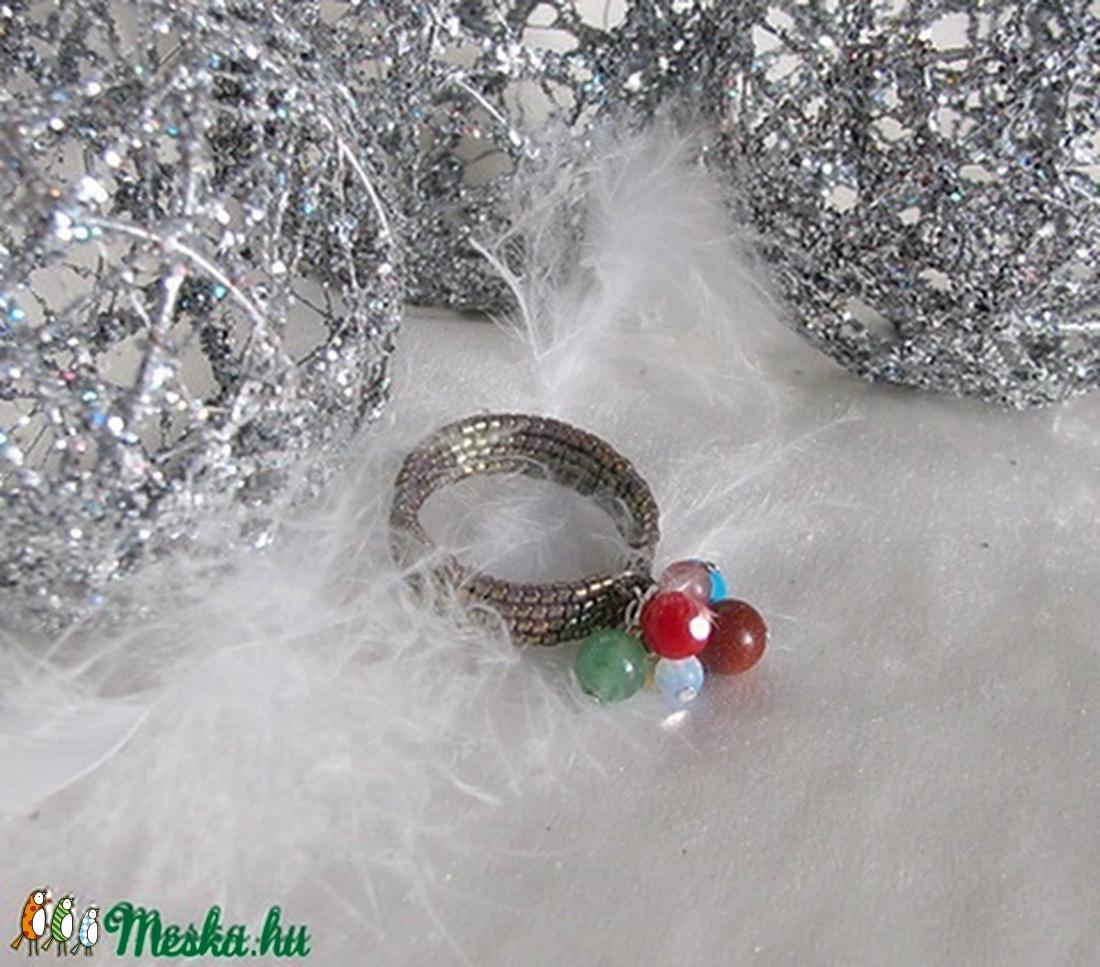 Gyógyító angyal gyűrű (nagy méret) - ékszer - Meska.hu
