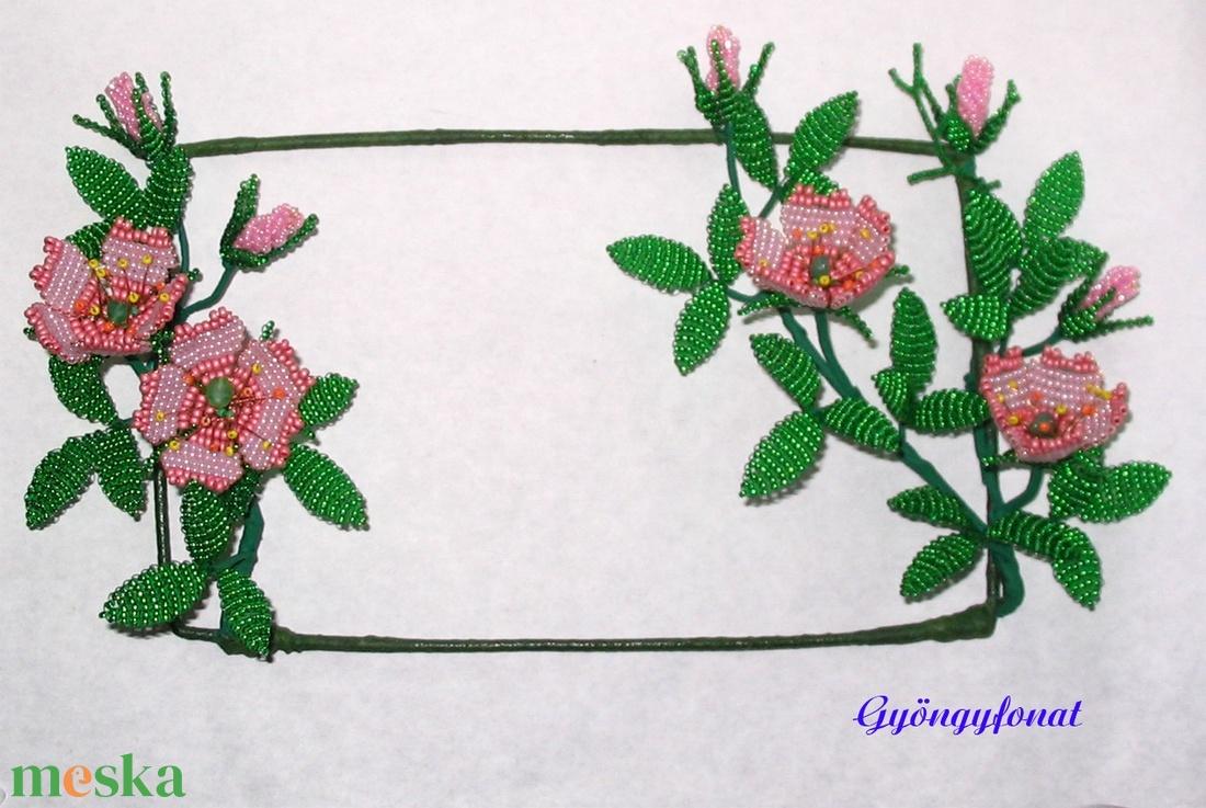 Falikép dísz gyöngyből (gyongyfonat) - Meska.hu