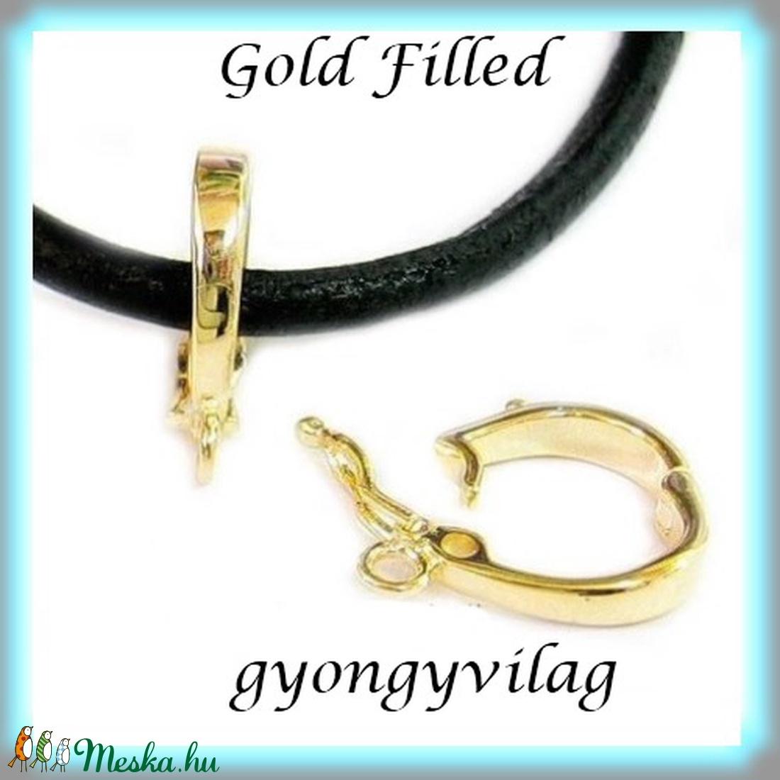 Gold Filled medáltartó EMT 15g - gyöngy, ékszerkellék - egyéb alkatrész - Meska.hu