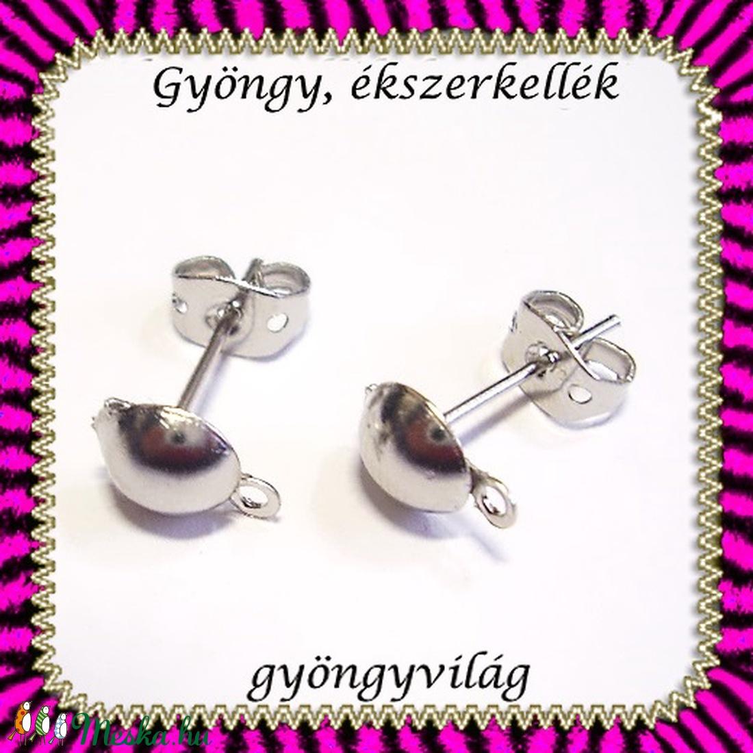 Bedugós fülbevaló alap 5 pár BFK-B05 E - gyöngy, ékszerkellék - egyéb alkatrész - Meska.hu