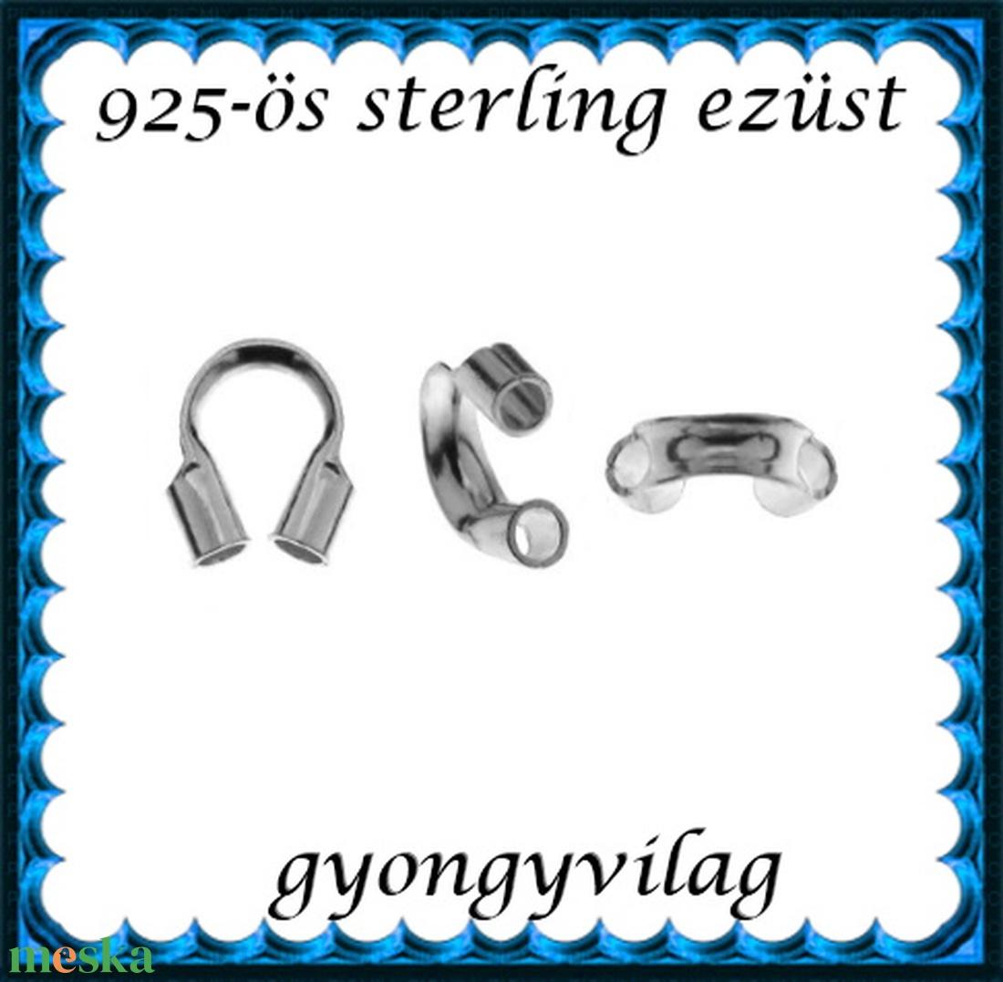 925-ös ezüst medáltartó EMT 08a  2db/csomag - gyöngy, ékszerkellék - egyéb alkatrész - Meska.hu