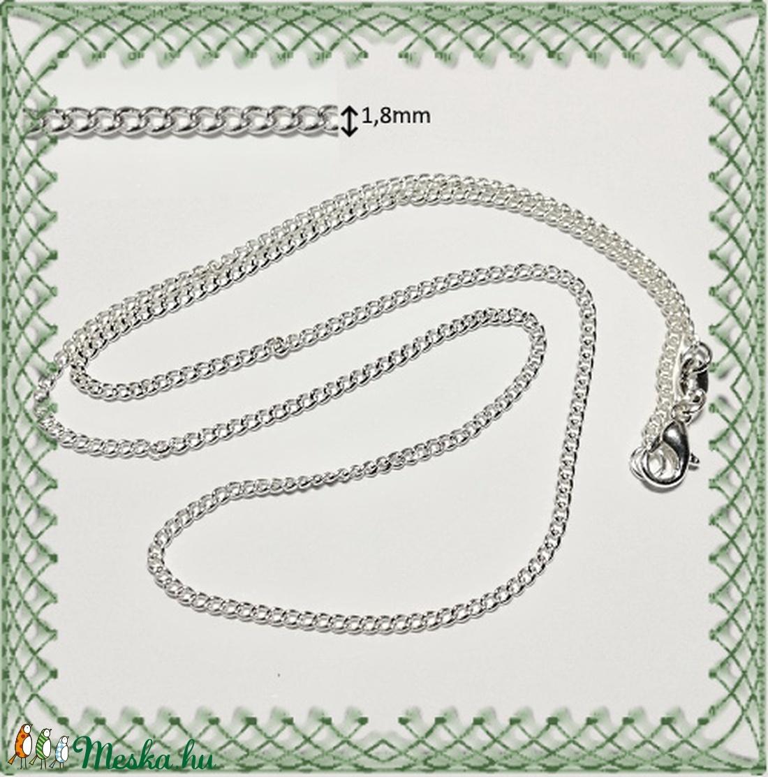 925-ös nyaklánc EÜL 25 52 - gyöngy, ékszerkellék - egyéb alkatrész - Meska.hu