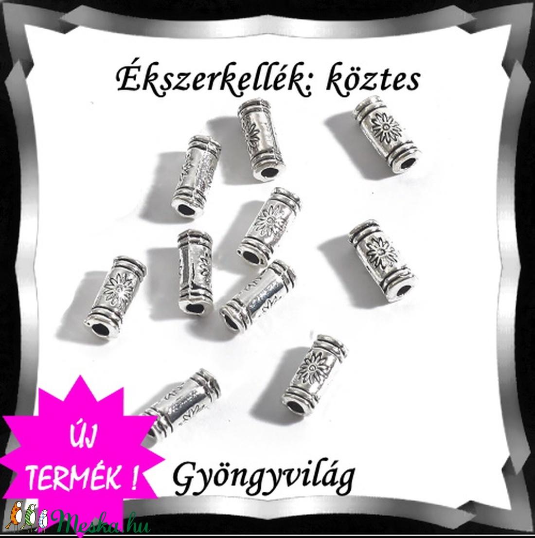 Ékszerkellék: köztes / díszítőelem / gyöngy  BKÖ 1S 44 10db/csomag - gyöngy, ékszerkellék - fém köztesek - Meska.hu