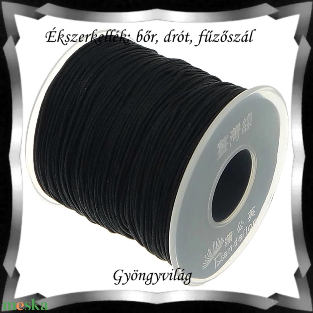 Ékszerkellék: makramé zsinór FSZ02 1mm-es több színben - textil - szalag, pánt - Meska.hu