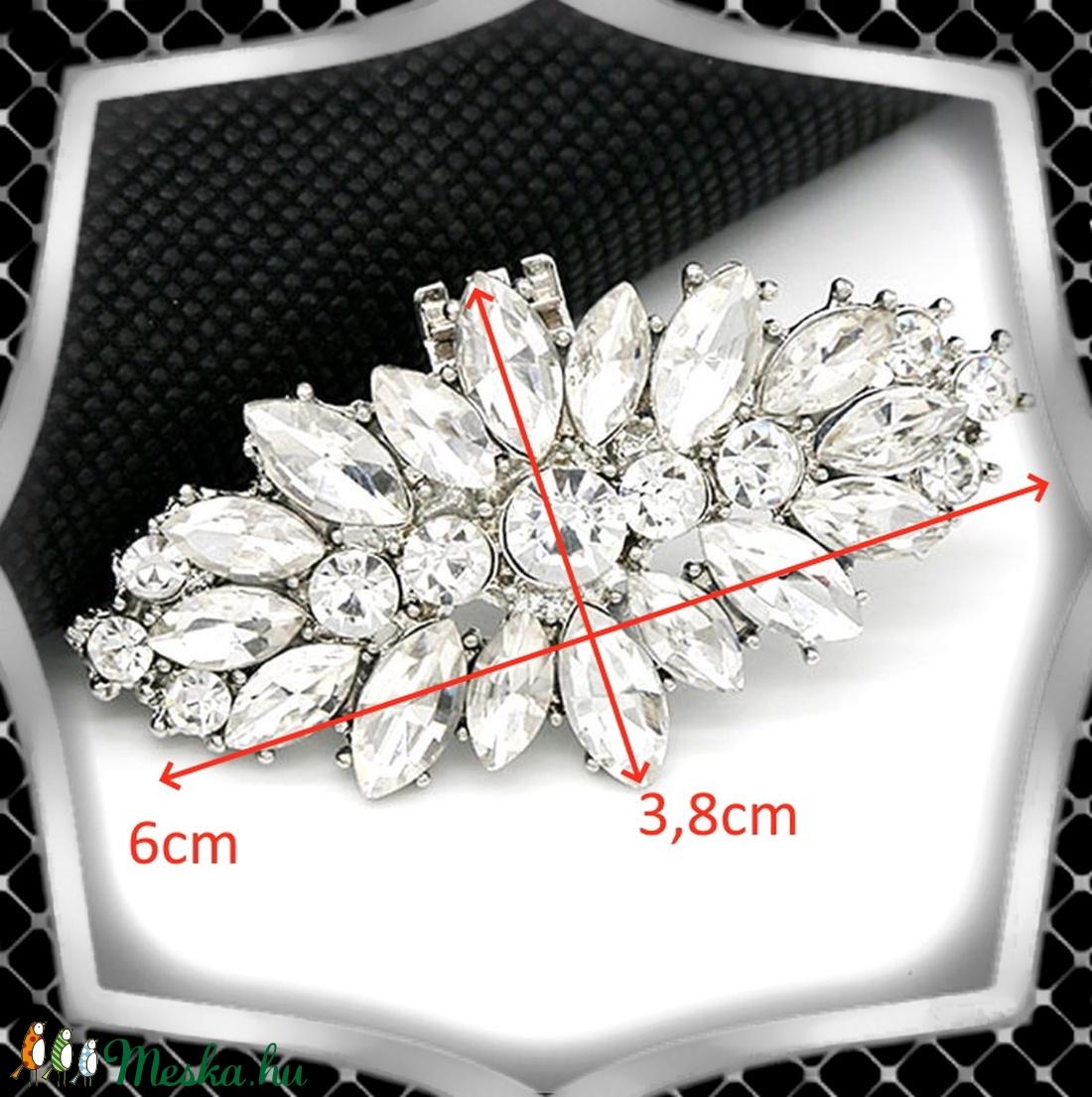 Esküvői, menyasszonyi, alkalmi cipődísz, cipőklipsz ES-CK11 - esküvő - cipő és cipőklipsz - Meska.hu