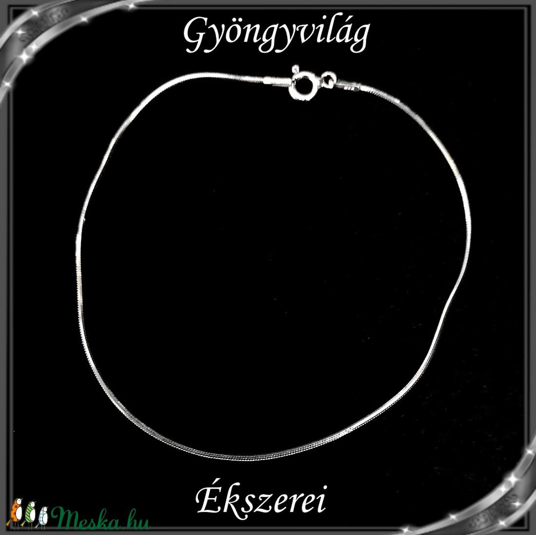 Ékszerek-karkötők: 925-ös sterling ezüst karkötő SSZ EÜK 09-20e - ékszer - nyaklánc - medál nélküli nyaklánc - Meska.hu