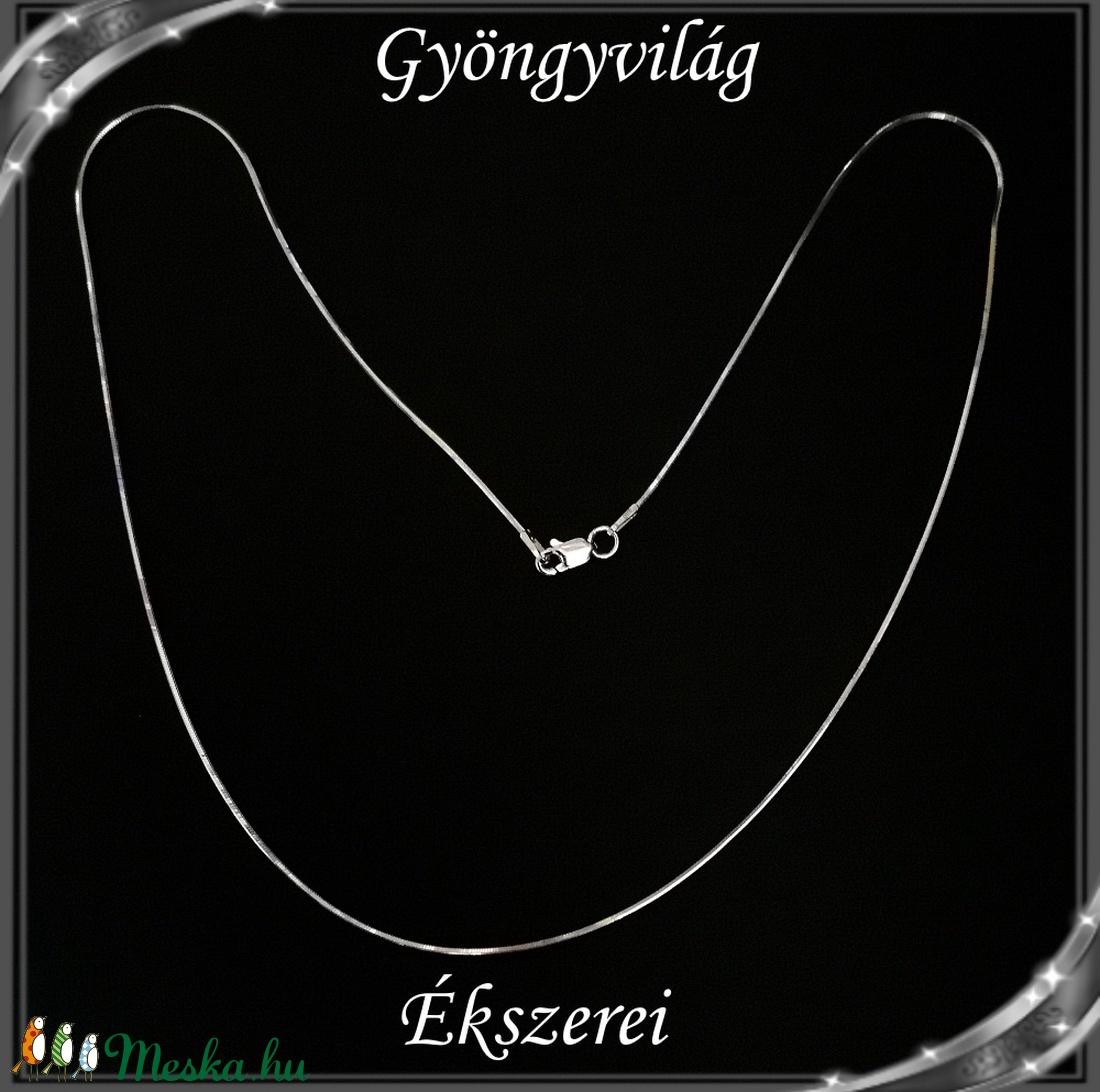 Ékszerek-nyakláncok: 925-ös sterling ezüst lánc SSZ EÜL 09-45e - ékszer - nyaklánc - medál nélküli nyaklánc - Meska.hu