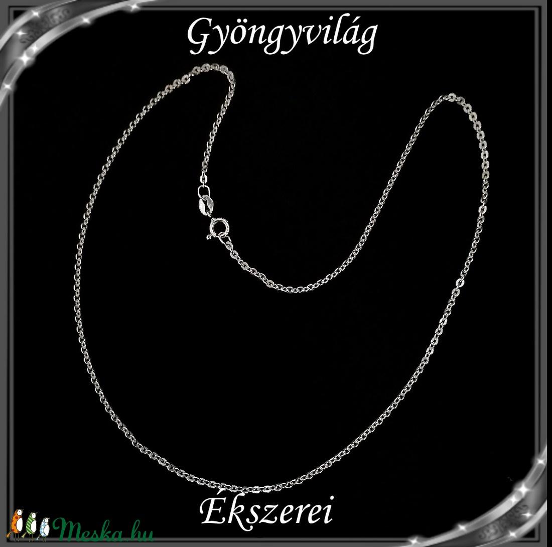 Ékszerek-nyakláncok: 925-ös sterling ezüst lánc SSZ EÜL 12-42e - ékszer - nyaklánc - medál nélküli nyaklánc - Meska.hu