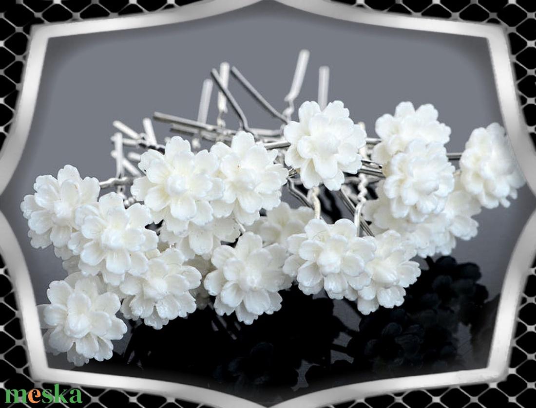 Ékszerek-hajdíszek, hajcsatok: Esküvői, menyasszonyi, alkalmi hajdísz ES-H-TŰ021 10db/csomag - esküvő - hajdísz - kontydísz & hajdísz - Meska.hu