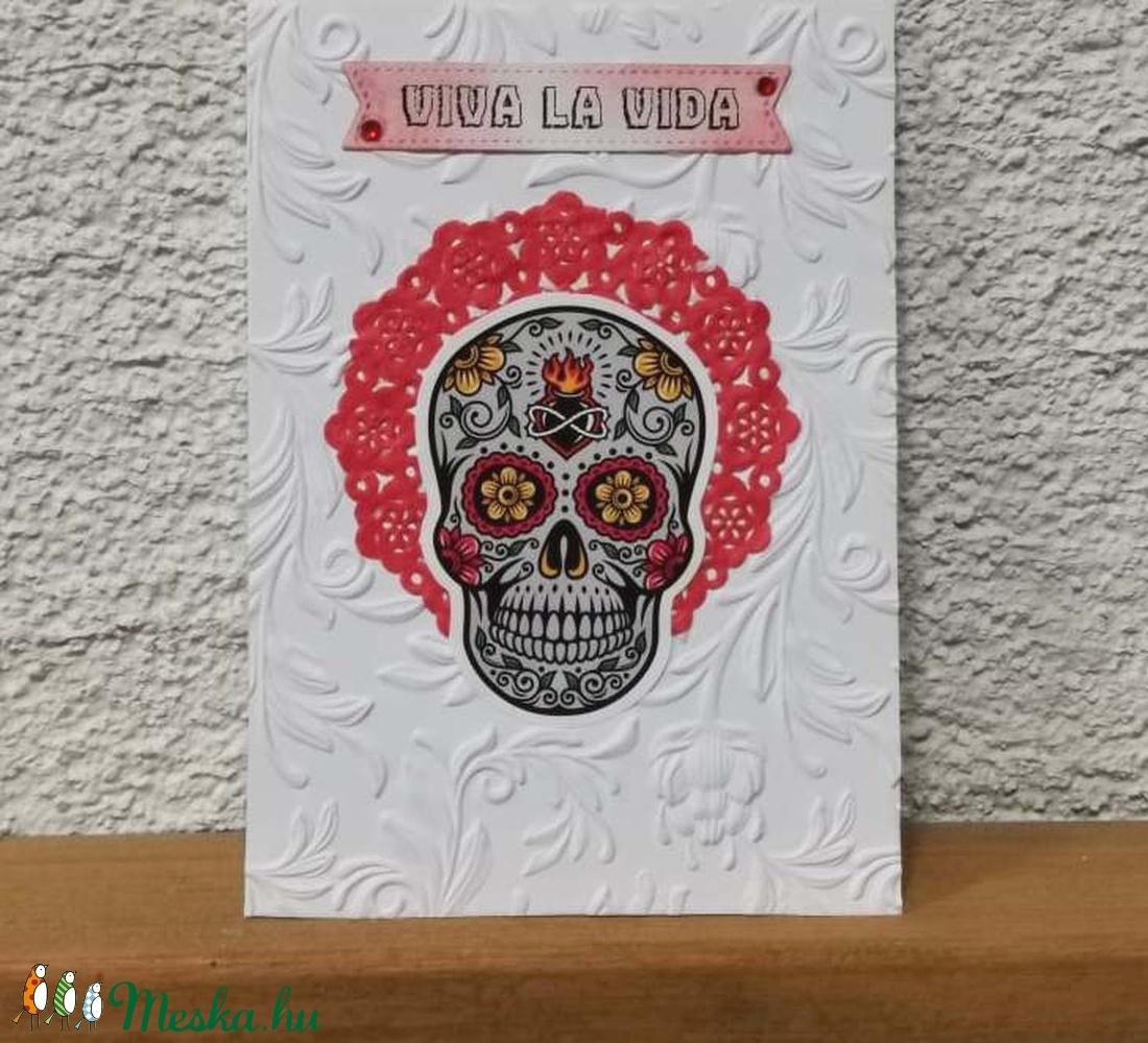 Cukorkoponya  képeslap, üdvözlőlap, ajándékkísérő : HMB2108_21 - otthon & lakás - papír írószer - képeslap & levélpapír - Meska.hu