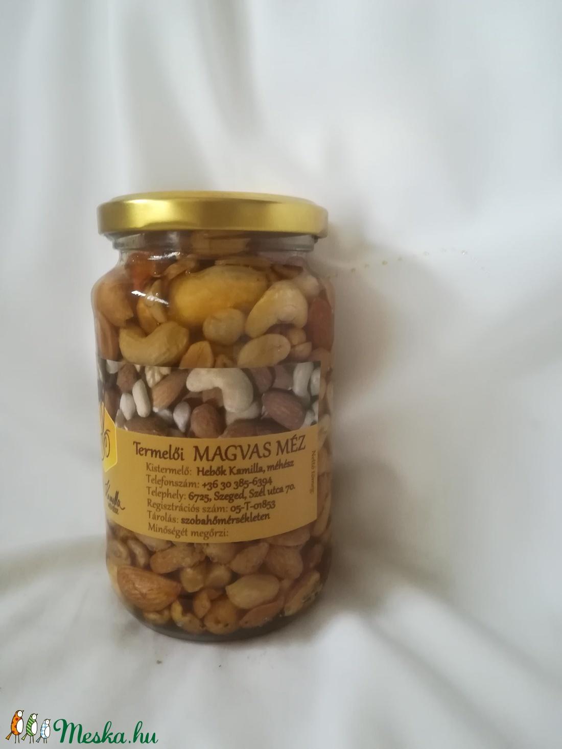 Magvas méz - Meska.hu