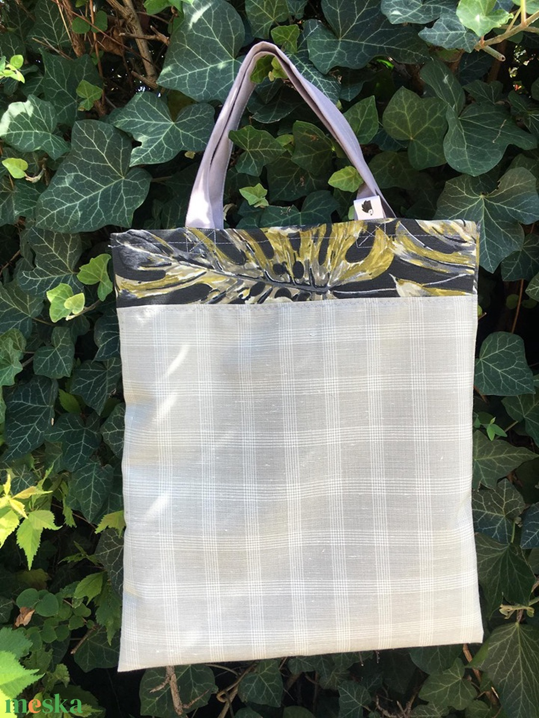 NIGHT LEAVES. Shopper. No. 2. - táska & tok - bevásárlás & shopper táska - shopper, textiltáska, szatyor - Meska.hu