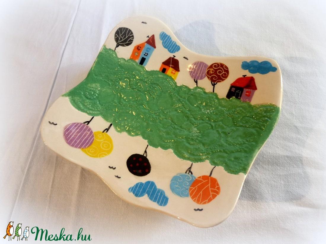 Kistányér- kézzel festett (Hokata) - Meska.hu