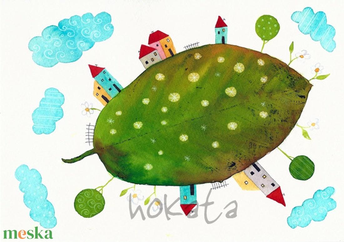 Mini univerzum- A4-as méretű nyomat (Hokata) - Meska.hu