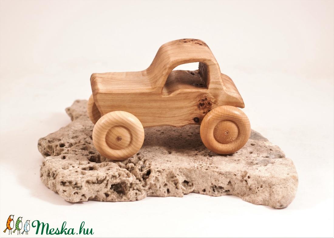 Játék fa traktor, fakocsi, fa autó - játék & gyerek - húzó & tolójátékok - Meska.hu