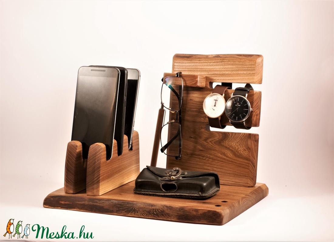 3 Mobil-, szemüveg-, 2 óra-,  3 toll tartó, asztali rendező - otthon & lakás - tárolás & rendszerezés - íróasztali tároló - Meska.hu