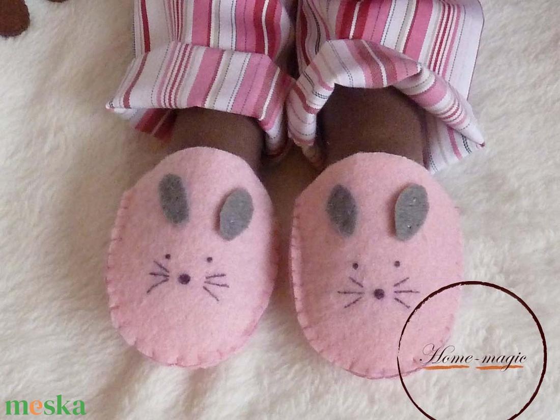Hanna - pizsamás, alvós szerecsen baba, néger baba - játék & gyerek - baba & babaház - baba - Meska.hu