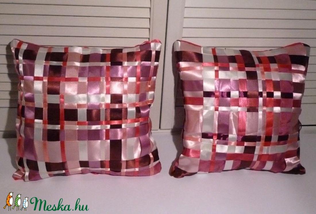 -20% kedvezmény Párnák - selymes pink szatén, rózsaszín - otthon & lakás - lakástextil - párna & párnahuzat - Meska.hu