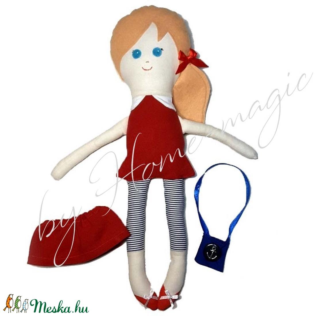Marina - textil baba - játék & gyerek - baba & babaház - baba - Meska.hu
