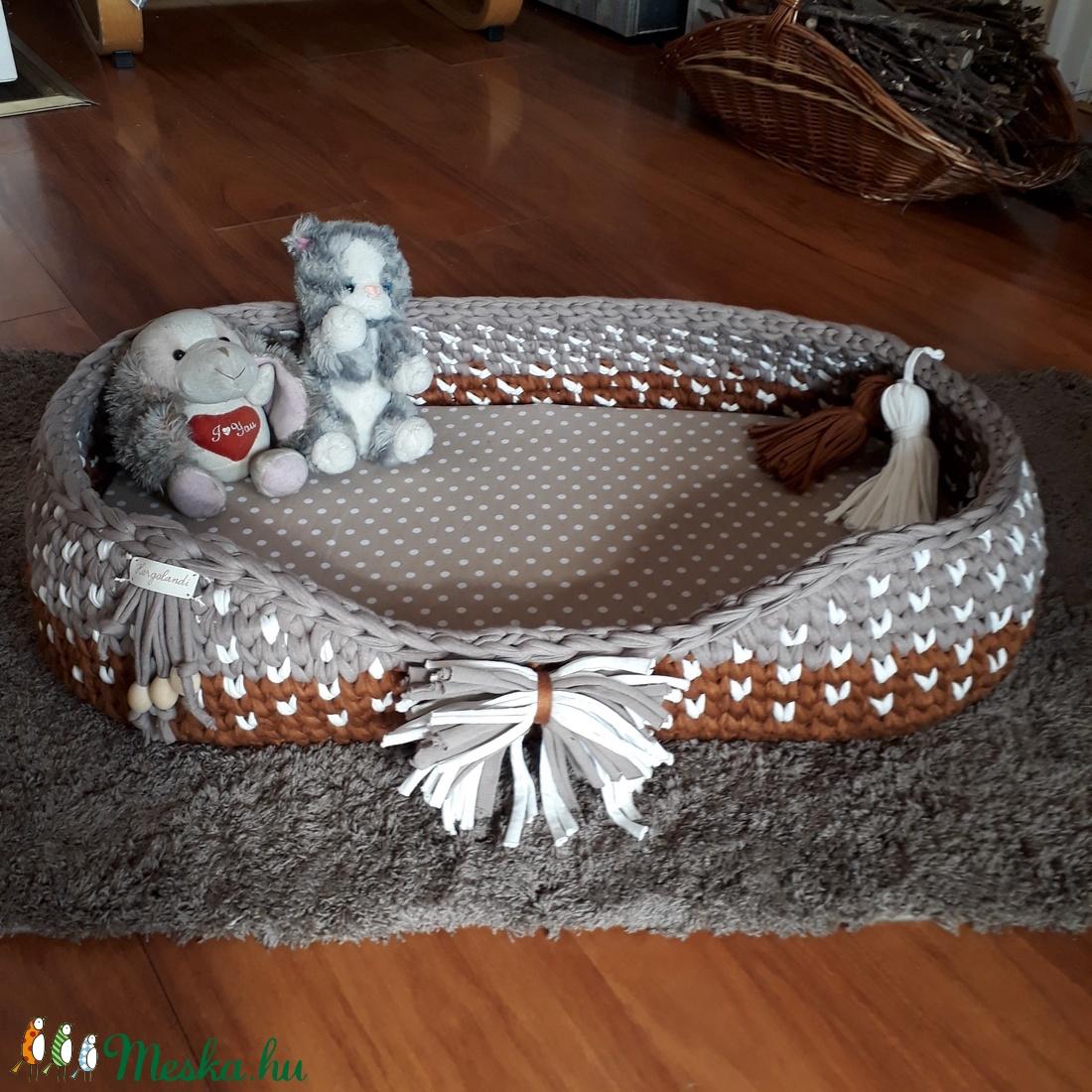 Kutyakosár - macskakosár (Horgolandi) - Meska.hu
