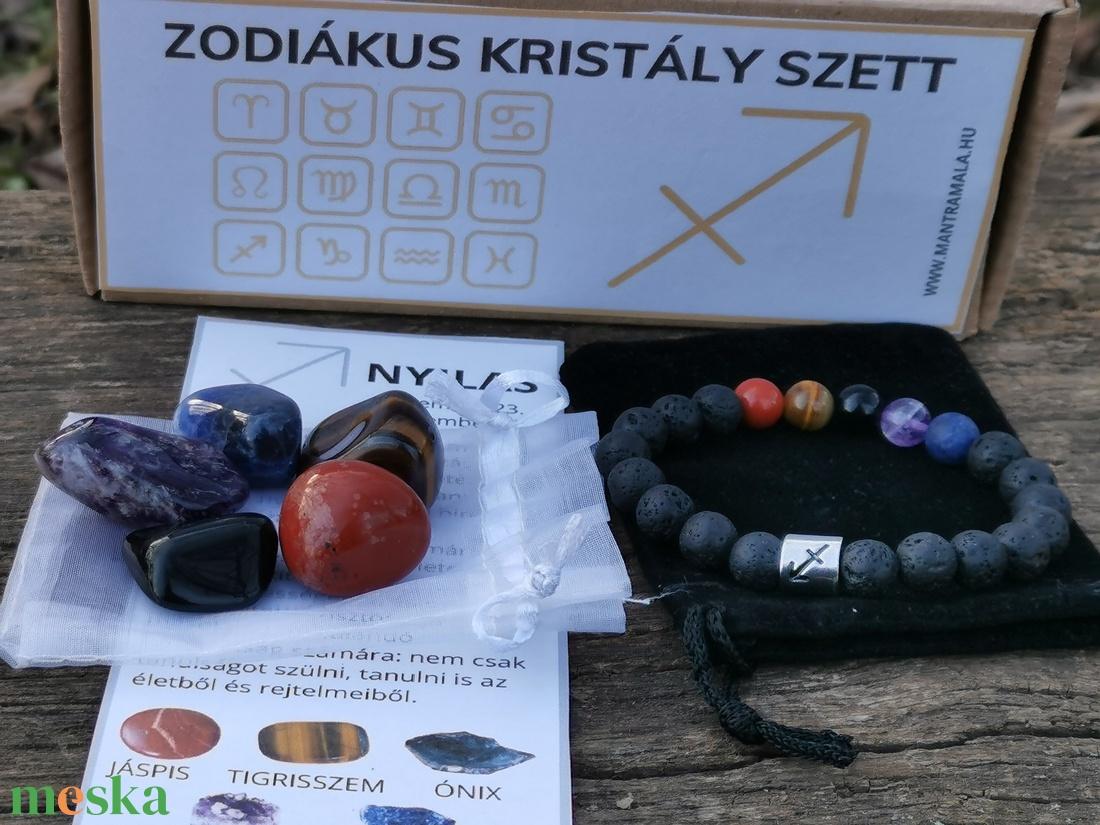 Zodiákus kristály szett- Nyilas - Meska.hu
