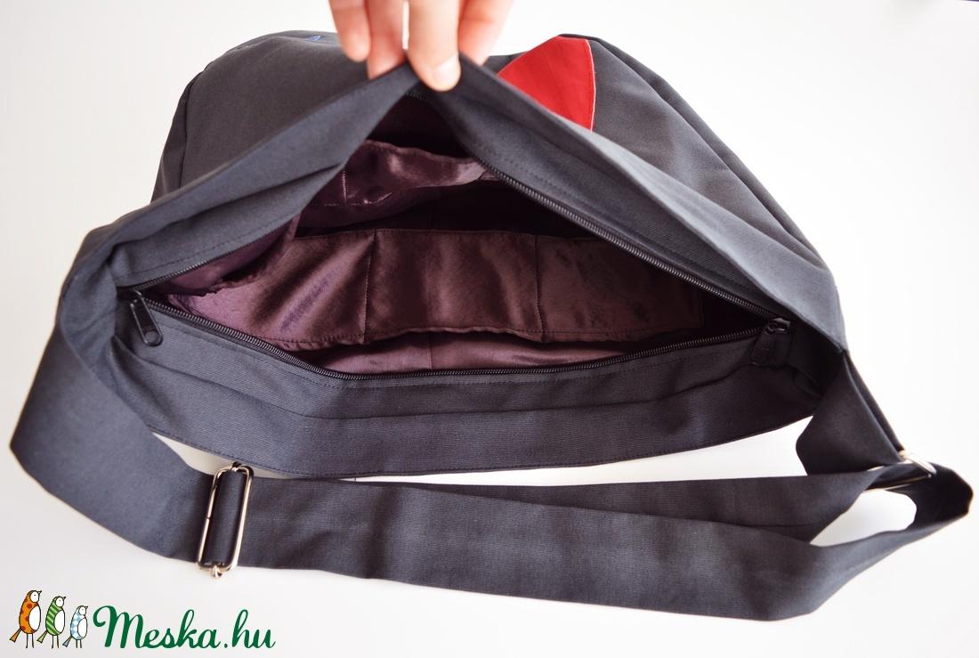 1.1 BASIC KOLLEKCIÓ Válltáska / Oldaltáska / Biciklis táska ravaszdi - táska & tok - kézitáska & válltáska - vállon átvethető táska - Meska.hu