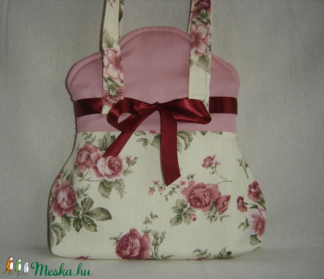 masnis táska rózsás  (imreagi) - Meska.hu