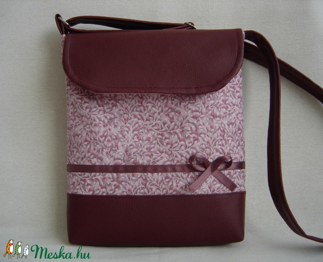 masnis textilbőr táska  (imreagi) - Meska.hu