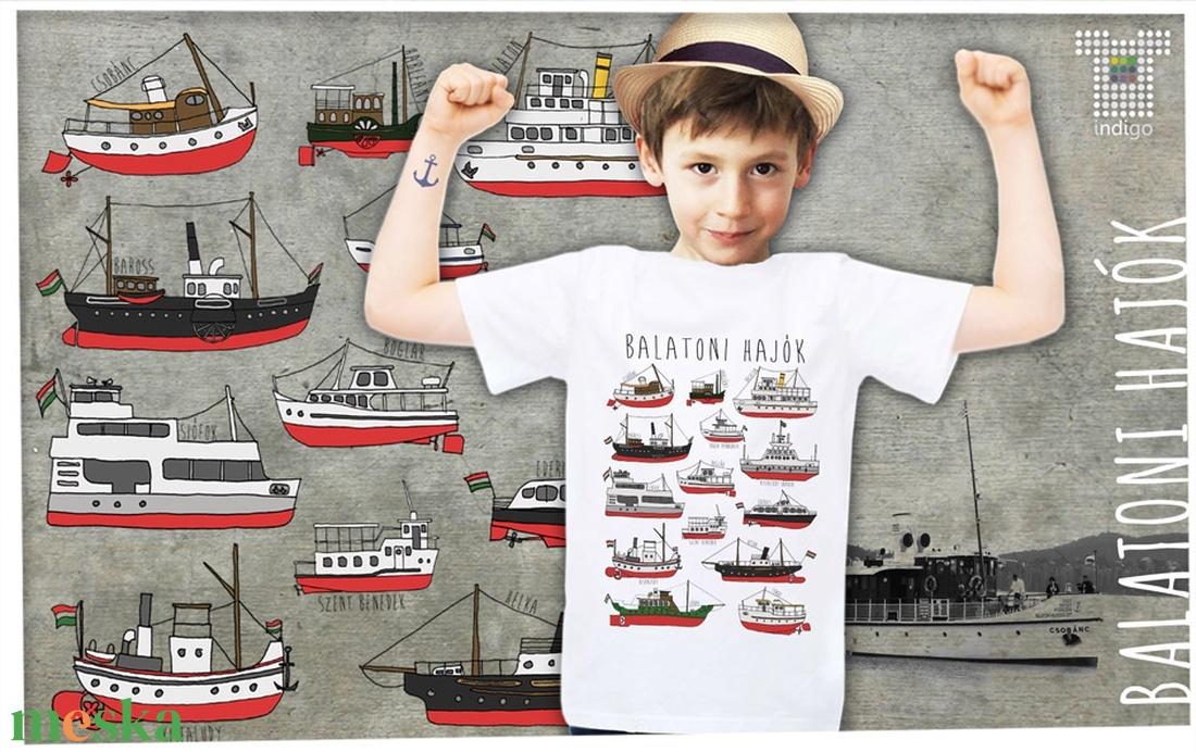 balatoni hajók gyerekeknek (IndigoMuhely) - Meska.hu