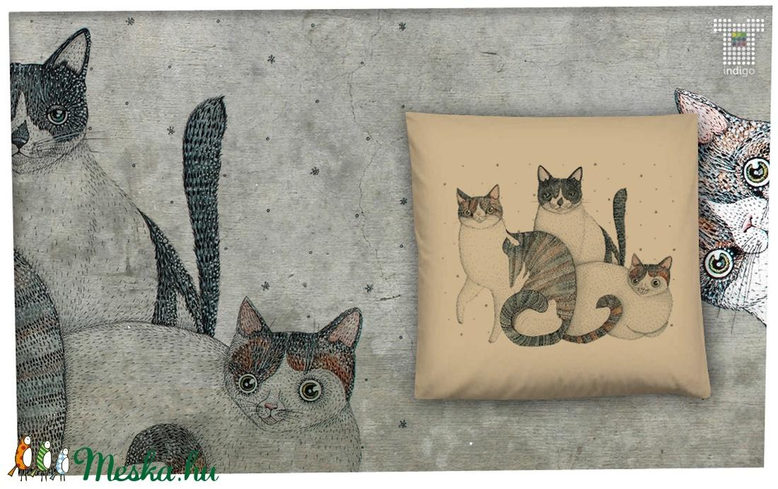 Három cica párnahuzaton (IndigoMuhely) - Meska.hu